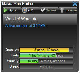 Full MakuaMon screenshot